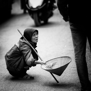 The Parable of the Beggar and the Diamond