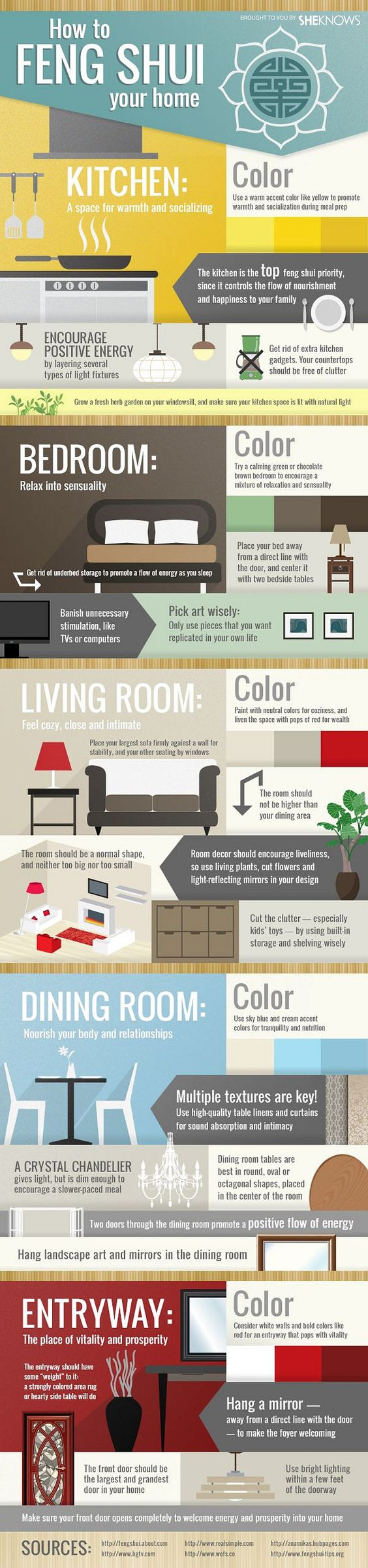 8 Feng Shui Tips to Improve Your Home and Life Enlight8